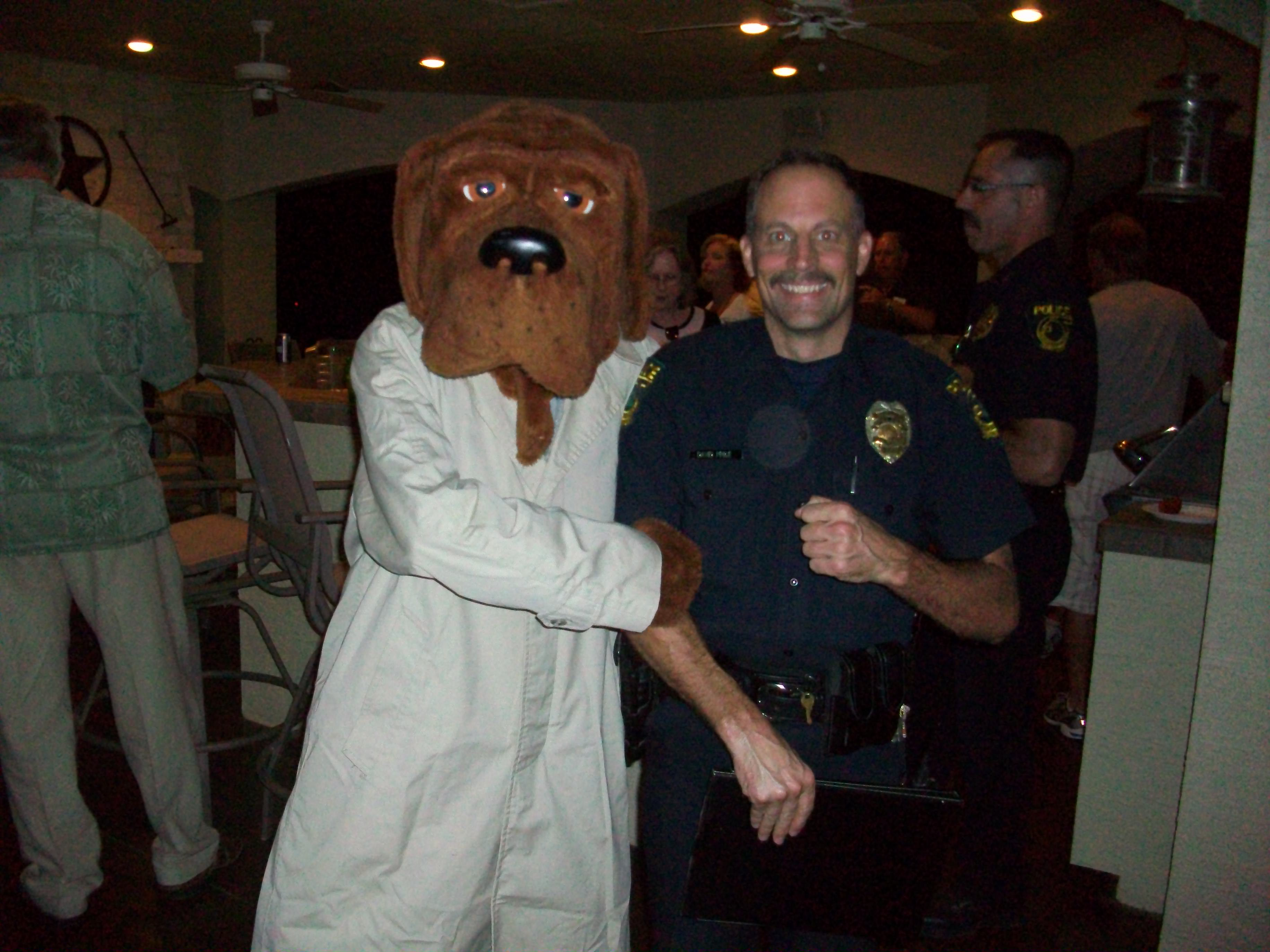 McGruff and Officer